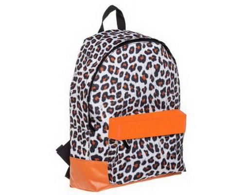 Рюкзак BASIC Leopard style для девочки, старшая школа