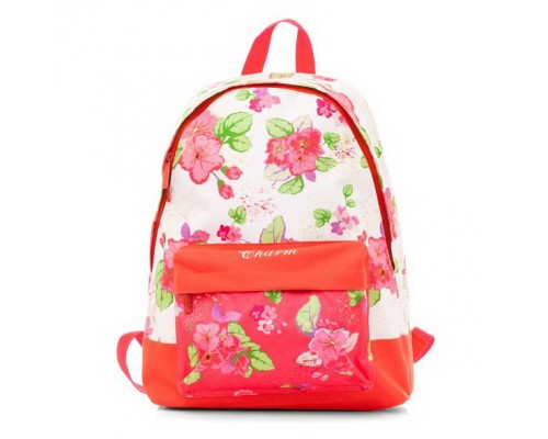 Рюкзак BASIC Нежные цветы для девочки, старшая школа