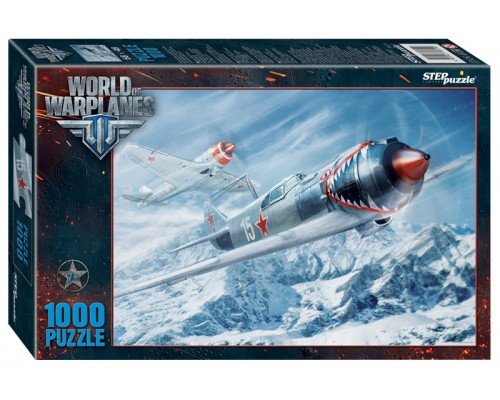 ПАЗЛ 1000 элементов Step Wargaming.net. World of Warplanes (Wargaming) 79614