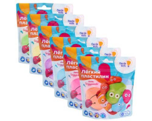 Лёгкий пластилин для детской лепки
