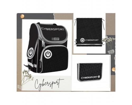 """Рюкзак """"Smart №2"""" Cybersport 3в1 в комплекте мешок для обуви, пенал д/мальчика нач.шк"""