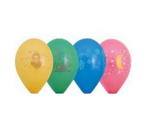 """Воздушные шары (с рисунком) 12"""" 1шт."""